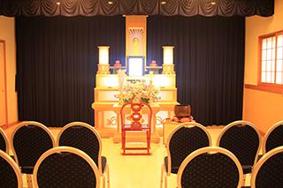 家族葬ホール1