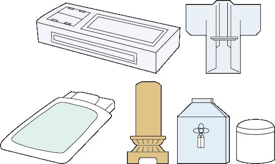 クロス張棺セット